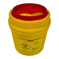 490ml Biohazard Container.  KJ825