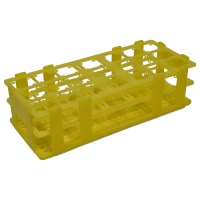21 Place Multi-Purpose Rack, Yellow