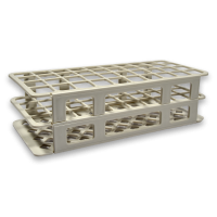 40 Place Tube Racks, White.  4050-4109-16