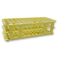 60 Place Tube Rack, Yellow.  4050-4107-17